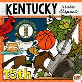 Kentucky State Clip Art