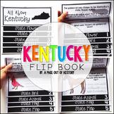 Kentucky State Flipbook Interactive Activity for Social Studies