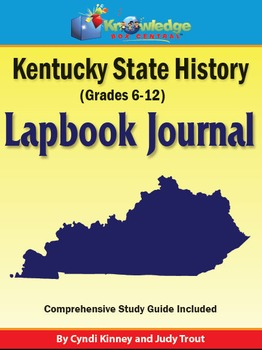 Kentucky State History Lapbook Journal