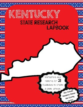 Kentucky State Research Lapbook Interactive Project