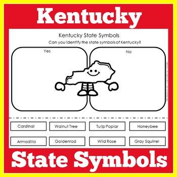 Kentucky State Symbols Worksheet