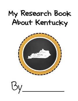 Kentucky Student Research Book