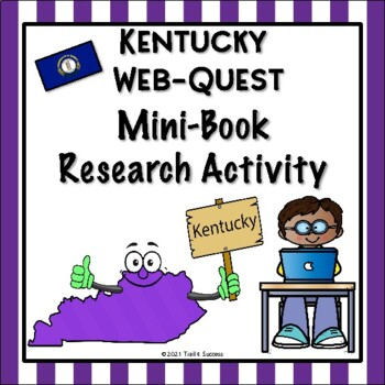 4th grade geography webquests resources lesson plans teachers kentucky webquest common core research mini book publicscrutiny Image collections