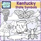 Kentucky state symbols clipart
