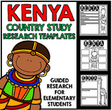 Kenya Country Study Research Project Templates and Graphic Organizers