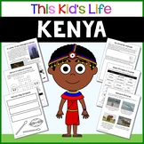 Kenya Country Study: Reading & Writing + PowerPoint Distance Learning
