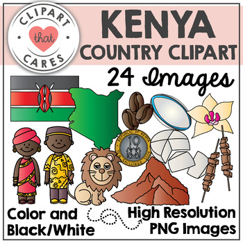 Kenya Clipart by Clipart That Cares