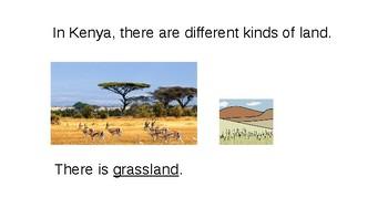 Kenya Geography - Maps