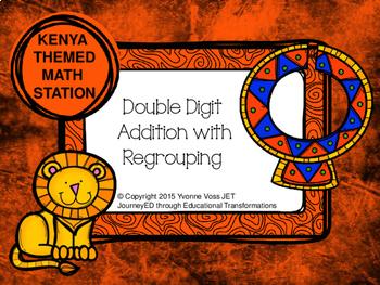 Kenya Themed Addition Station