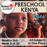 Kenya - Weekly Unit for Preschool, PreK or Homeschool Preschool