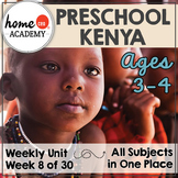 Kenya - Weekly Unit for Preschool, PreK or Homeschool Preschool