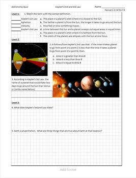 Kepler Kwizzes (Quizzes)
