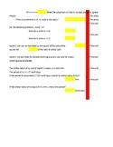2020 Kepler's Law Self Checking Random Practice Excel Instant Feedback