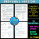 Kepler's Laws of Planetary Motion Science Reading Comprehension Activity