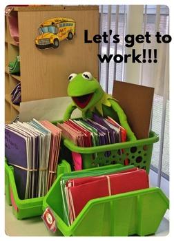 Kermit goes to school