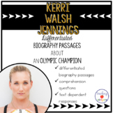 Kerri Walsh Jennings: Differentiated Biography Passages & Reading Comprehension