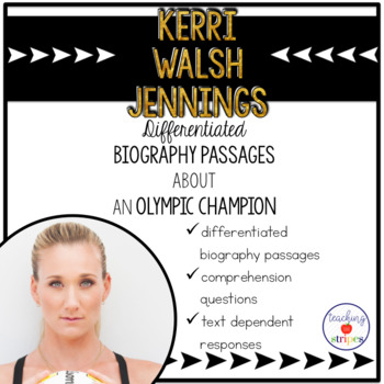 Kerri Walsh Jennings: Differentiated Biography Passages &