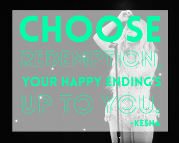 Kesha Motivational Classroom Poster