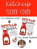 Ketchup Folder Covers