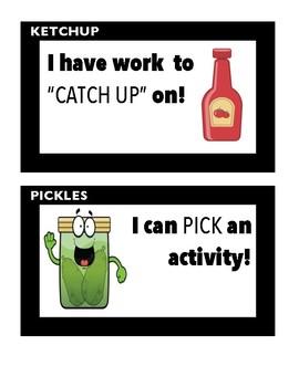 Ketchup & Pickles Sign