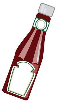 Ketchup Poster,  Notes, and Folder