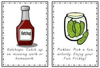 Ketchup and Pickles