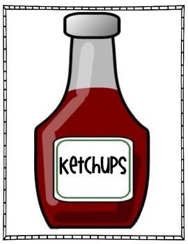 Ketchups and Pickles Freebie