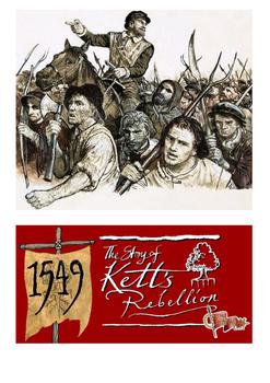 Kett Rebellion Word Search