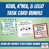 Keva, K'NEX, & LEGO Task Card Bundle for Makerspace, Morning Work, or More!