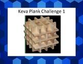 Keva Plank Task Cards