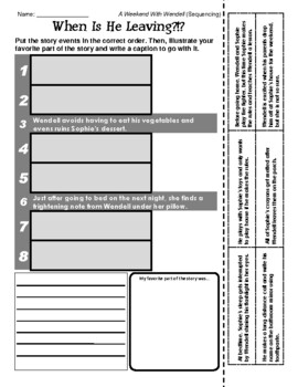 Kevin Henkes (A Weekend with Wendell - Sequencing / Retelling)