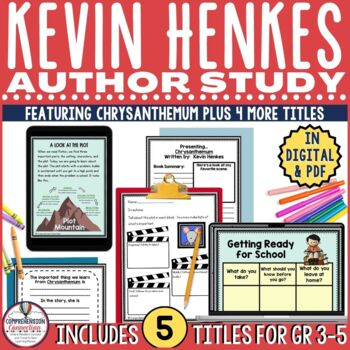This bundle includes materials for five of Kevin Henkes' best books. Each includes before/during/after activities as well as writing extensions.