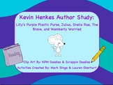 Kevin Henkes Author Study Part 2 (Activities, Graphic Organizers, Games)