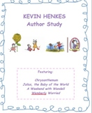 Kevin Henkes Author Study Worksheets