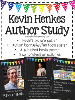 Kevin Henkes Author Study and Activities