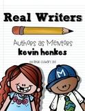 Kevin Henkes Unit for Writing Workshop