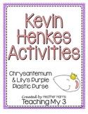 Kevin Henkes Book Activities