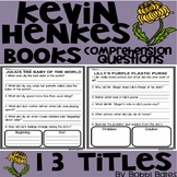 Kevin Henkes Books Comprehension Questions