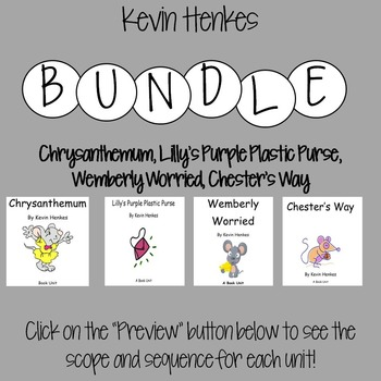 Kevin Henkes Bundle