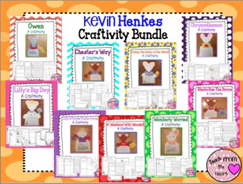 Kevin Henkes Craftivity Bundle (9 Craftivities!)