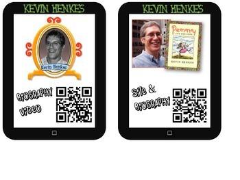 Kevin Henkes Listening Center (12 QR Code Storybooks)