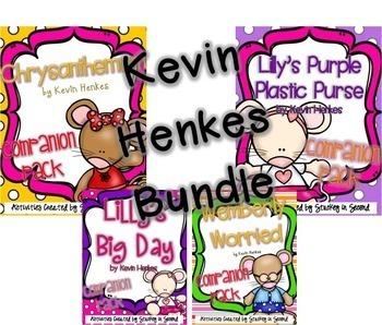 Kevin Henkes Literature Companion Pack Bundle