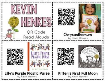 Kevin Henkes QR Code Read Alouds