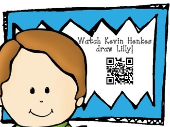 Kevin Henkes QR Readers for Listen to Reading