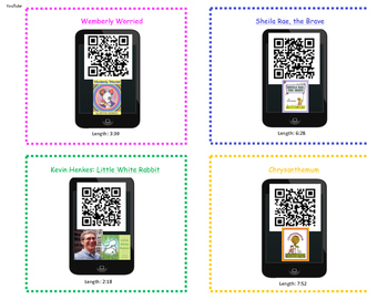 Read a thon teaching resources teachers pay teachers kevin henkes reading and listening qr code activity youtube fandeluxe Image collections