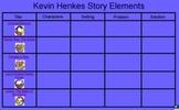 Kevin Henkes Story Elements Flipchart