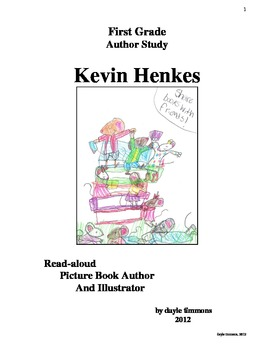 Kevin Henkes Ultimate Author Study