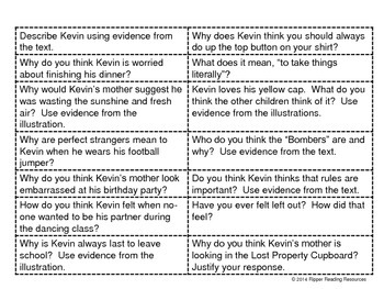 """Kevin Thinks"" - 4H reading strategy resource for learning about ASD"