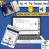 Key #2: My Personal Story -  Interactive Google Slides -IE