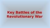 Key Battles of The Revolutionary War